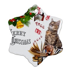 Free books for Christmas Ornament (Snowflake)