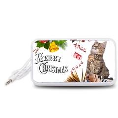 Free books for Christmas Portable Speaker (White)