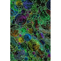 Lovely Allover Bubble Shapes Green 5.5  x 8.5  Notebooks