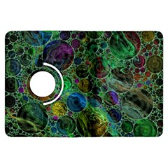 Lovely Allover Bubble Shapes Green Kindle Fire HDX Flip 360 Case