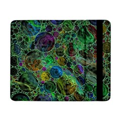 Lovely Allover Bubble Shapes Green Samsung Galaxy Tab Pro 8 4  Flip Case