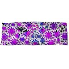 Lovely Allover Flower Shapes Pink Body Pillow Cases Dakimakura (two Sides)