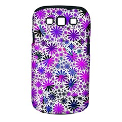 Lovely Allover Flower Shapes Pink Samsung Galaxy S III Classic Hardshell Case (PC+Silicone)