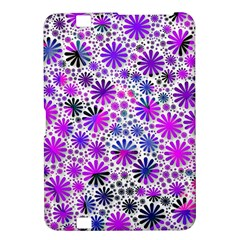 Lovely Allover Flower Shapes Pink Kindle Fire HD 8.9