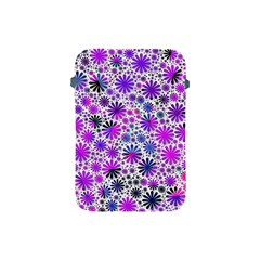 Lovely Allover Flower Shapes Pink Apple iPad Mini Protective Soft Cases