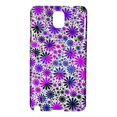 Lovely Allover Flower Shapes Pink Samsung Galaxy Note 3 N9005 Hardshell Case