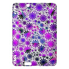 Lovely Allover Flower Shapes Pink Kindle Fire HDX Hardshell Case