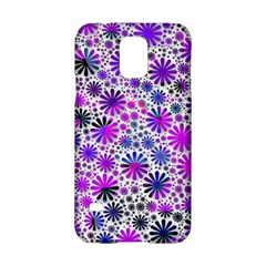 Lovely Allover Flower Shapes Pink Samsung Galaxy S5 Hardshell Case
