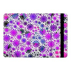 Lovely Allover Flower Shapes Pink Samsung Galaxy Tab Pro 10.1  Flip Case