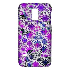 Lovely Allover Flower Shapes Pink Galaxy S5 Mini