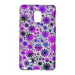Lovely Allover Flower Shapes Pink Galaxy Note Edge