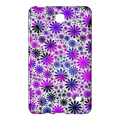 Lovely Allover Flower Shapes Pink Samsung Galaxy Tab 4 (8 ) Hardshell Case