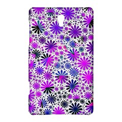 Lovely Allover Flower Shapes Pink Samsung Galaxy Tab S (8.4 ) Hardshell Case