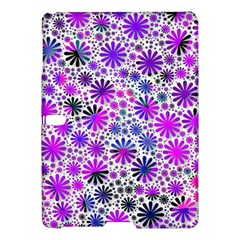 Lovely Allover Flower Shapes Pink Samsung Galaxy Tab S (10.5 ) Hardshell Case