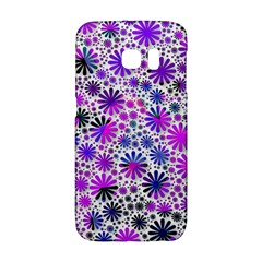 Lovely Allover Flower Shapes Pink Galaxy S6 Edge