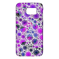 Lovely Allover Flower Shapes Pink Galaxy S6