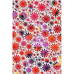 Lovely Allover Flower Shapes 5.5  x 8.5  Notebooks