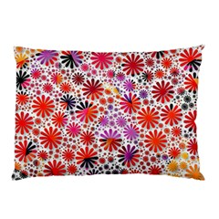 Lovely Allover Flower Shapes Pillow Cases (two Sides)