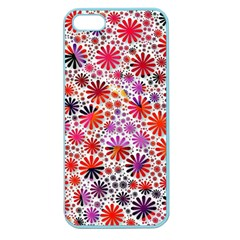 Lovely Allover Flower Shapes Apple Seamless iPhone 5 Case (Color)