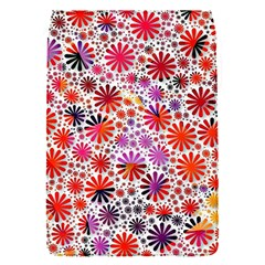Lovely Allover Flower Shapes Flap Covers (S)