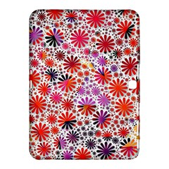 Lovely Allover Flower Shapes Samsung Galaxy Tab 4 (10 1 ) Hardshell Case
