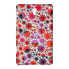 Lovely Allover Flower Shapes Samsung Galaxy Tab S (8 4 ) Hardshell Case