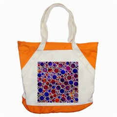 Lovely Allover Hot Shapes Blue Accent Tote Bag