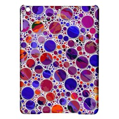 Lovely Allover Hot Shapes Blue iPad Air Hardshell Cases