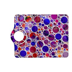 Lovely Allover Hot Shapes Blue Kindle Fire Hd (2013) Flip 360 Case