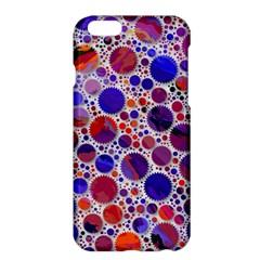 Lovely Allover Hot Shapes Blue Apple iPhone 6/6S Plus Hardshell Case