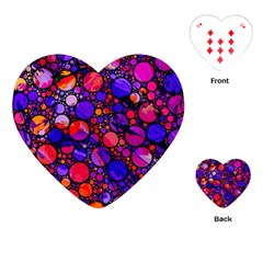 Lovely Allover Hot Shapes Playing Cards (Heart)