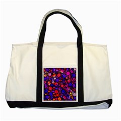 Lovely Allover Hot Shapes Two Tone Tote Bag
