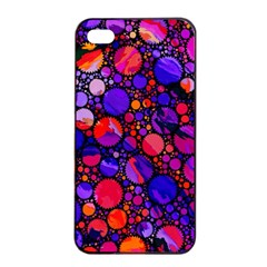 Lovely Allover Hot Shapes Apple iPhone 4/4s Seamless Case (Black)
