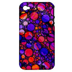Lovely Allover Hot Shapes Apple iPhone 4/4S Hardshell Case (PC+Silicone)