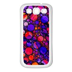 Lovely Allover Hot Shapes Samsung Galaxy S3 Back Case (White)
