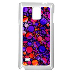 Lovely Allover Hot Shapes Samsung Galaxy Note 4 Case (White)