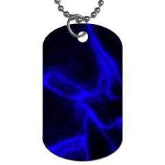 Cosmic Energy Blue Dog Tag (One Side)