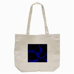 Cosmic Energy Blue Tote Bag (Cream)