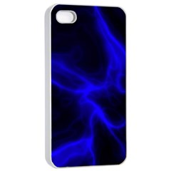 Cosmic Energy Blue Apple Iphone 4/4s Seamless Case (white)