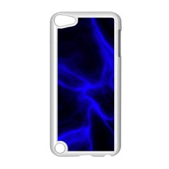 Cosmic Energy Blue Apple iPod Touch 5 Case (White)