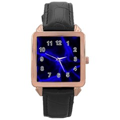 Cosmic Energy Blue Rose Gold Watches