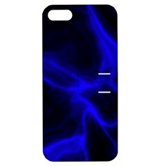 Cosmic Energy Blue Apple iPhone 5 Hardshell Case with Stand