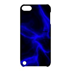 Cosmic Energy Blue Apple iPod Touch 5 Hardshell Case with Stand