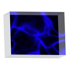 Cosmic Energy Blue 5 x 7  Acrylic Photo Blocks