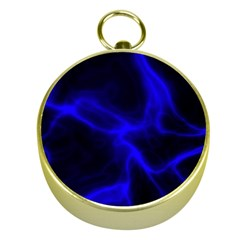 Cosmic Energy Blue Gold Compasses