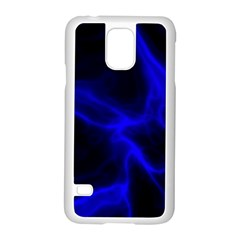 Cosmic Energy Blue Samsung Galaxy S5 Case (White)