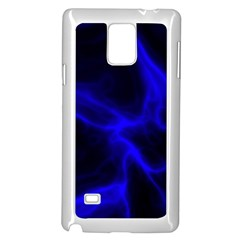Cosmic Energy Blue Samsung Galaxy Note 4 Case (White)