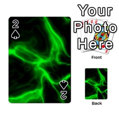Cosmic Energy Green Playing Cards 54 Designs