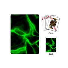 Cosmic Energy Green Playing Cards (Mini)