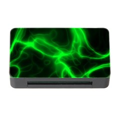 Cosmic Energy Green Memory Card Reader with CF